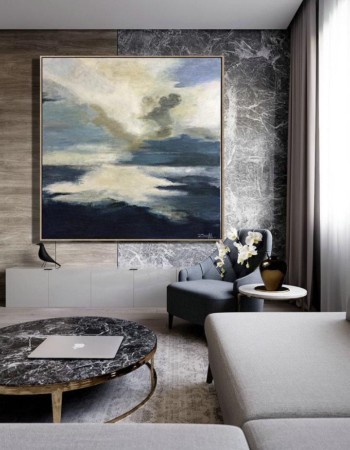 Original Painting Living Room Wall Art