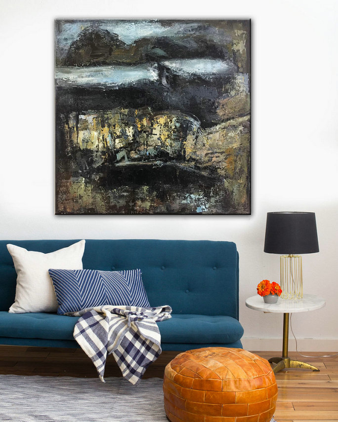 Painted Art, Acrylic on canvas, Wall Art Home, Abstract Painting, Acrylic art, Large Modern Art, Handmade Canvas Art, Heavy Textured Art