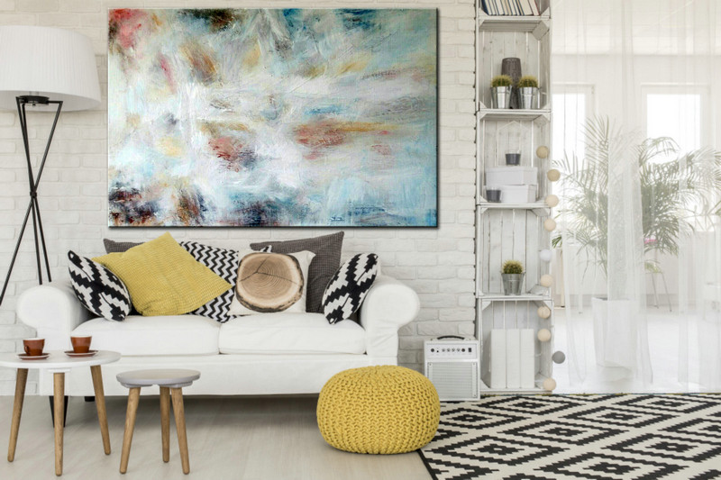 Abstract Painting, Abstract Art, Large acrylic Art, Large Wall Art, Large Decor Art, Handmade Decor Art, Oil Large Painting, Wall art decor