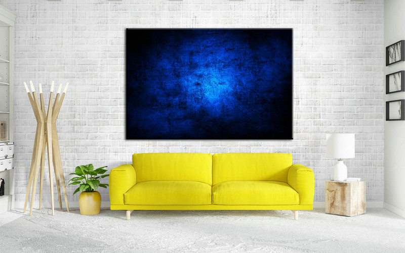 Blue Abstract Painting, Oil Artwork Painting, Large Painting Art, Xxl large Painting, Large Art on Canvas, Living Room Art, Large Canvas Art