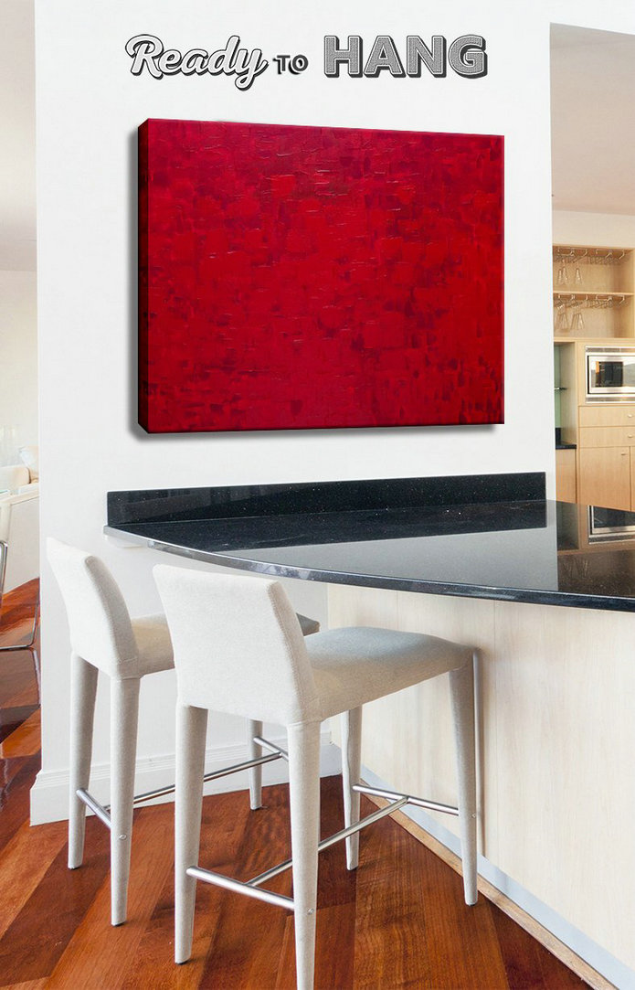 Abstract painting, Contemporary Art, Canvas Painting, Original Abstract, Acrylic Painting, Modern Canvas Red, Red abstract art, Oil painting