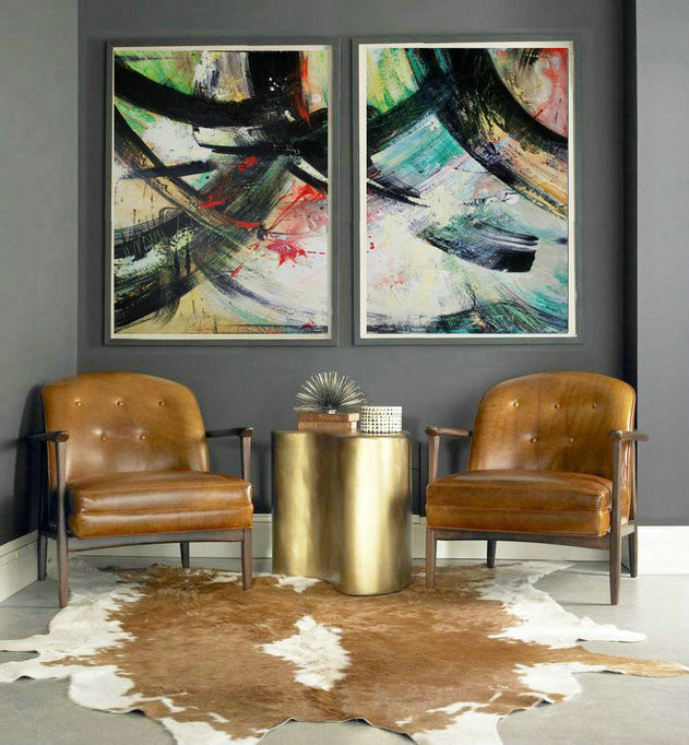 Set of 2 Canvas Abstract, Acrylic Painting, Home Decor, Canvas Art, Acrylic Painting, Abstract Canvas, Set of 2 Art, Abstract art, Wall Art