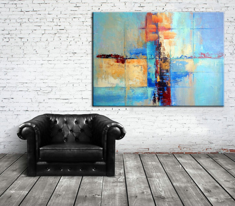 Colorful Painting Art, Colorful Collectible Painting, Colorful Large Art, Colorful Canvas Painting, Colorful Canvas Wall Art, Wall art decor