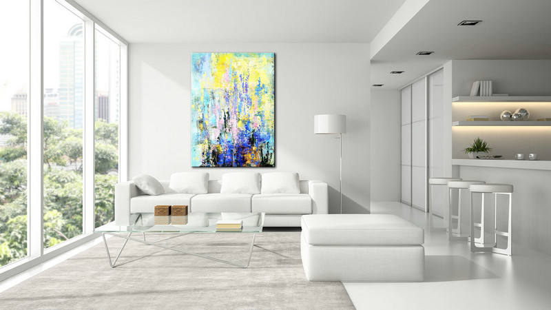 Living Room Art, Large Abstract Art, Abstract Canvas, Textured painting, Colorful Large Art, Natural Colors, Abstract Canvas Art, Large Art