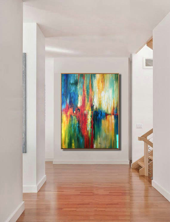 Large Decor Art, Abstract Art, Oil Canvas Painting, Large Painting, Original Painting, Oil Painting, Large Wall Art, Large Decor Painting