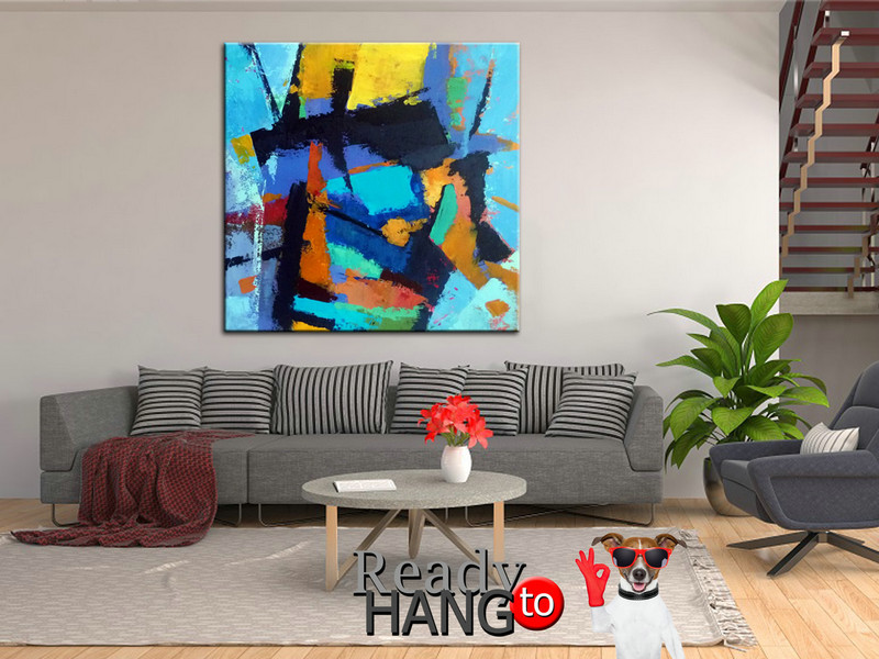Abstract Painting, Oil Painting, Abstract Decor Painting, Large Decor Art, Abstract paintings, Oil paintings, Oil, Canvas Art, Abstract Art