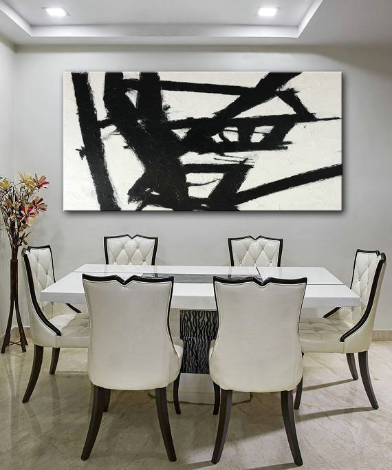 Black & White, Black and white Art, Abstract Painting, Art painting, Abstract Decor Painting, Abstract Wall Painting, Oil Painting, Painting