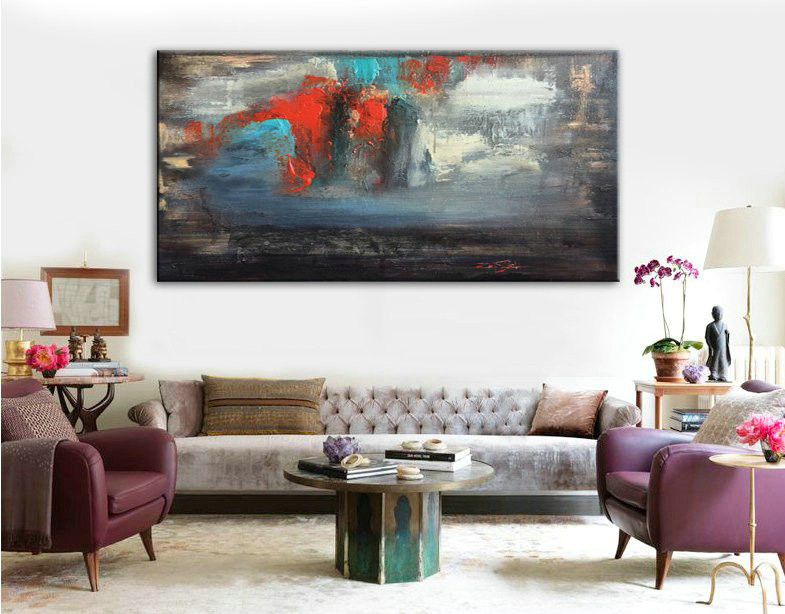 Canvas painting, Oil painting, Large painting, Large Wall Art, Art, Art Decor, Home Decor, Acrylic Painting, Oil paintings, Original Artwork