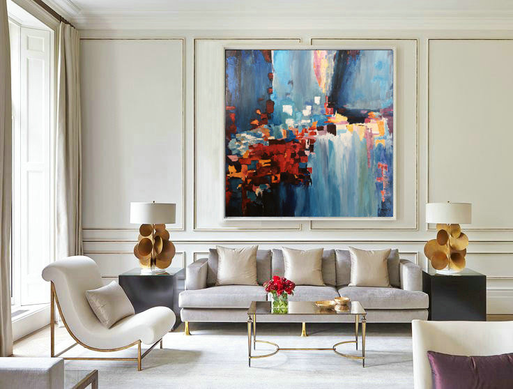 Acrylic Painting, Canvas Abstract, Original Artwork, Wall Decor Living Room Wall Decor, Original Abstract Painting, Wall art decor