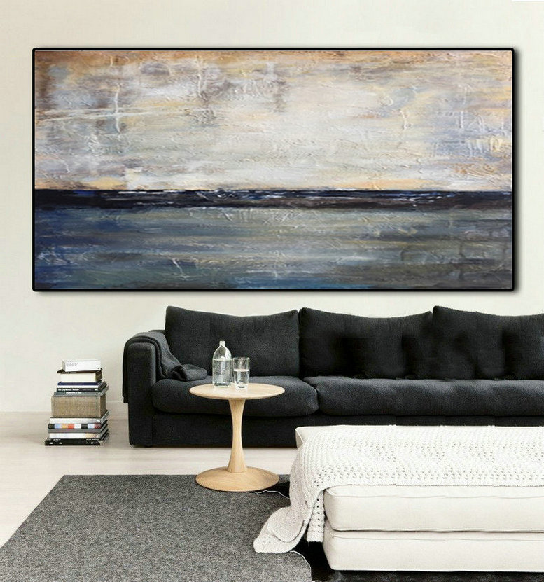 Oil Painting, Large Decor Art, Black White Large Art, Black and White Large Art, Abstract Painting, Large Decor Painting, Abstract Art, Art