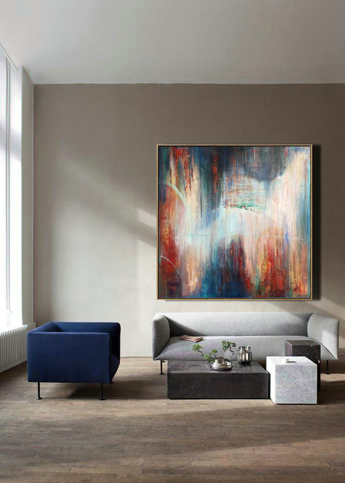 Extra Large painting, Oil Original Art, Canvas Painting, Large acrylic Art, Original Art, Large Abstract Art, Living Room Art, Large Canvas