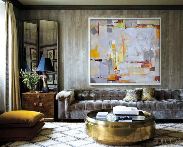 Handmade Large Contemporary Art Acrylic Painting Abstract Canvas Art, Original Art. Blue yellow orange red green- By Biao