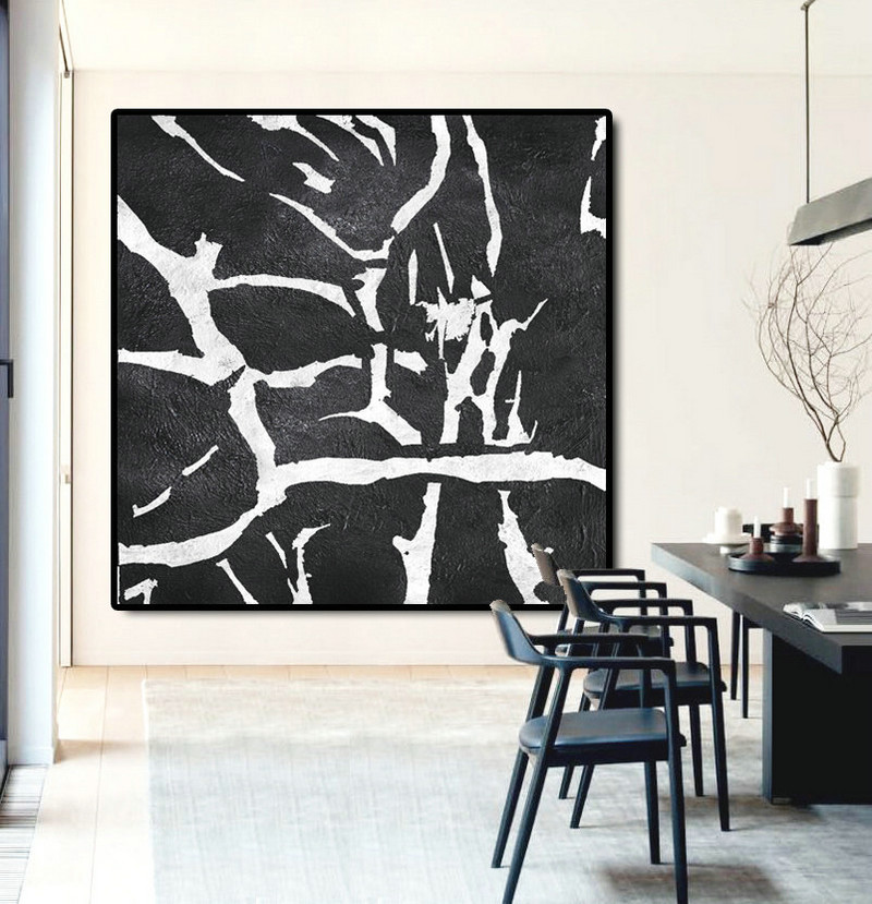 Large Abstract Painting Canvas Art, Landscape Painting On Canvas, Handmade Original Art Abstract Tree.