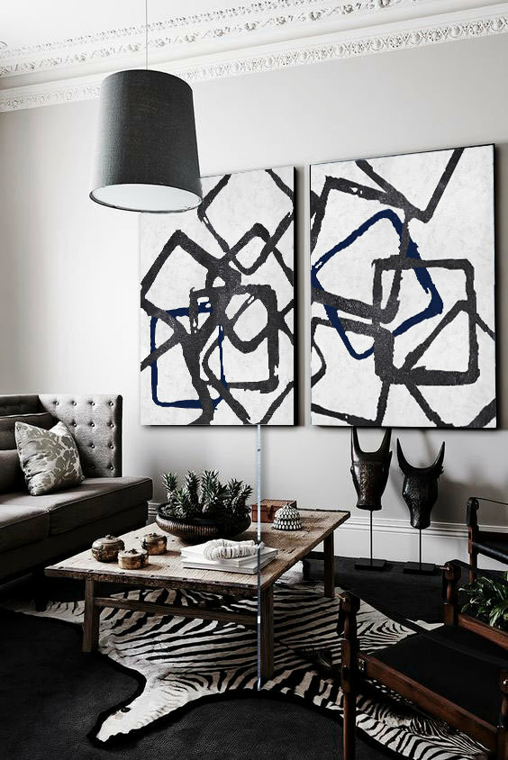 LN Art Co.,Ltd Announces a Set Of Two Huge Contemporary Art Pieces As A Home Décor Masterpiece