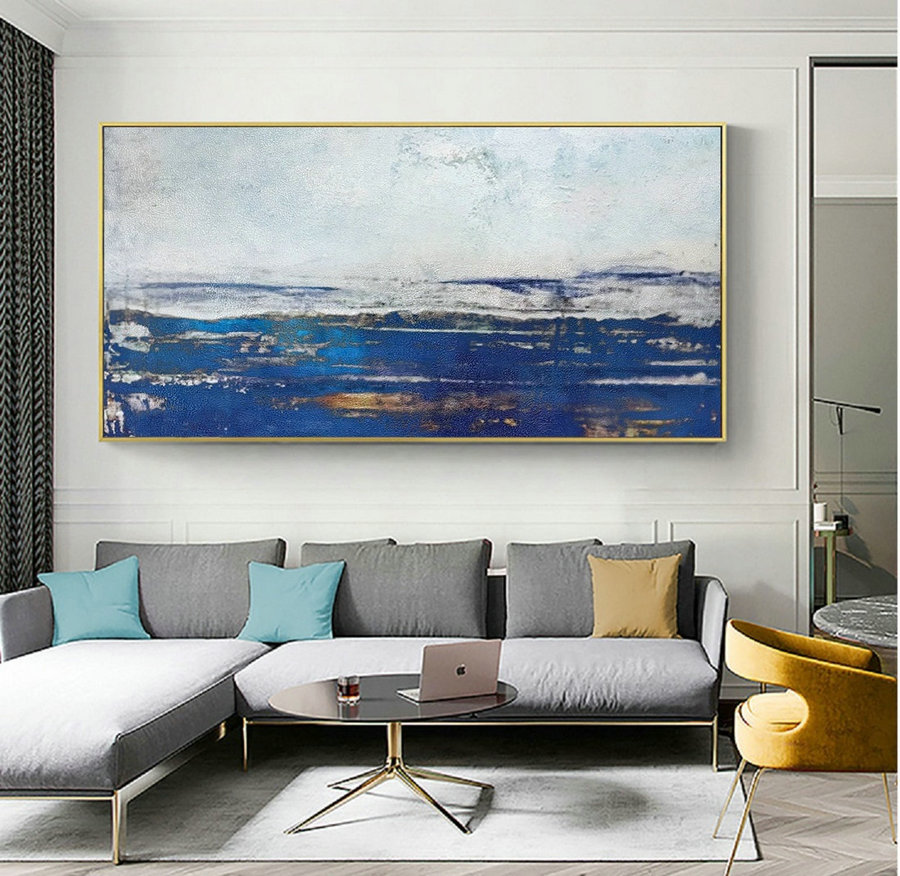 Large Abstract Sky Oil Painting,Large Abstract Art,Abstract Painting on Canvas,Original Abstract Art Painting,Large Wall Canvas Oil Painting
