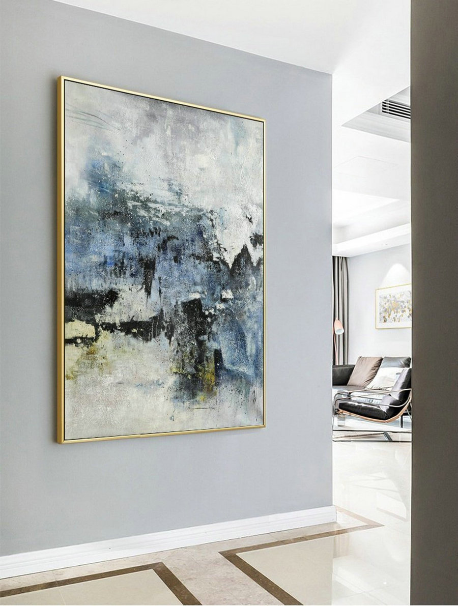Large Abstract Painting, Original Abstract Painting, Large Abstract Art, Living Room Art,Nature Abstract Painting,Large Wall Canvas Painting