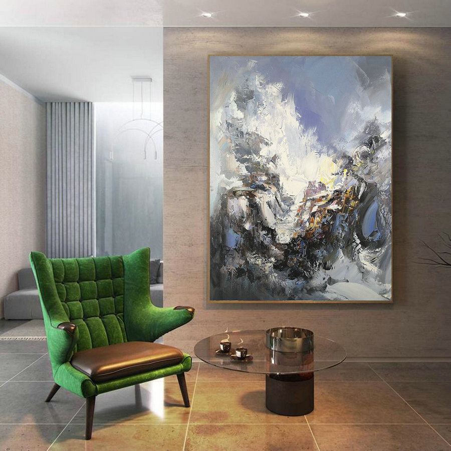 Large Texture Abstract Painting,Acrylic Abstract Painting,Original Abstract Art Painitng,Large Living Room Art Abstract Paintings On Canvas