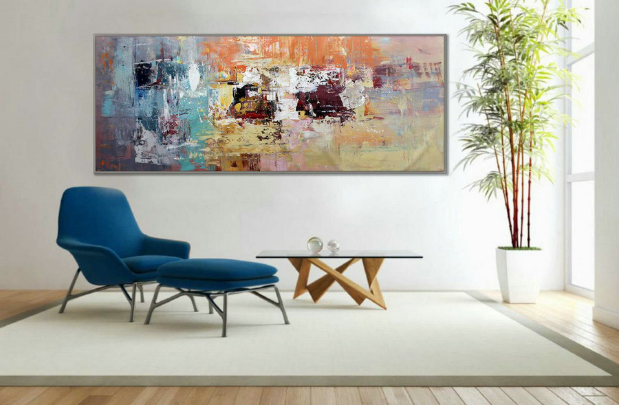 "Wall Art Decor Painting Abstract Painting Modern Art 27x71""/70x180cm 72"" Large Painting 180cm XL"