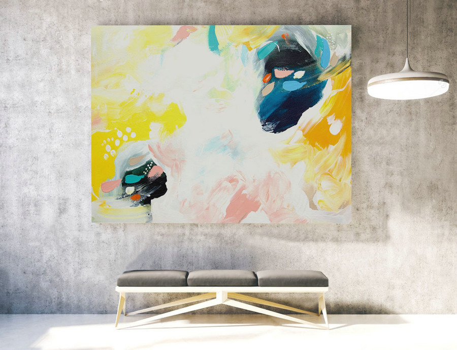 Large Original Painting, Large Wall Art Canvas,Original Large Abstract Painting,Extra Large Abstract Art,Large Abstract Painting XXL LAS048