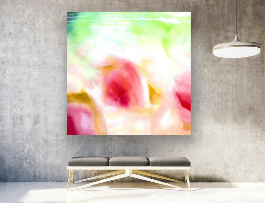 Extra Large Wall art - Abstract Painting on Canvas, Contemporary Art, Original Oversize Painting LAS146