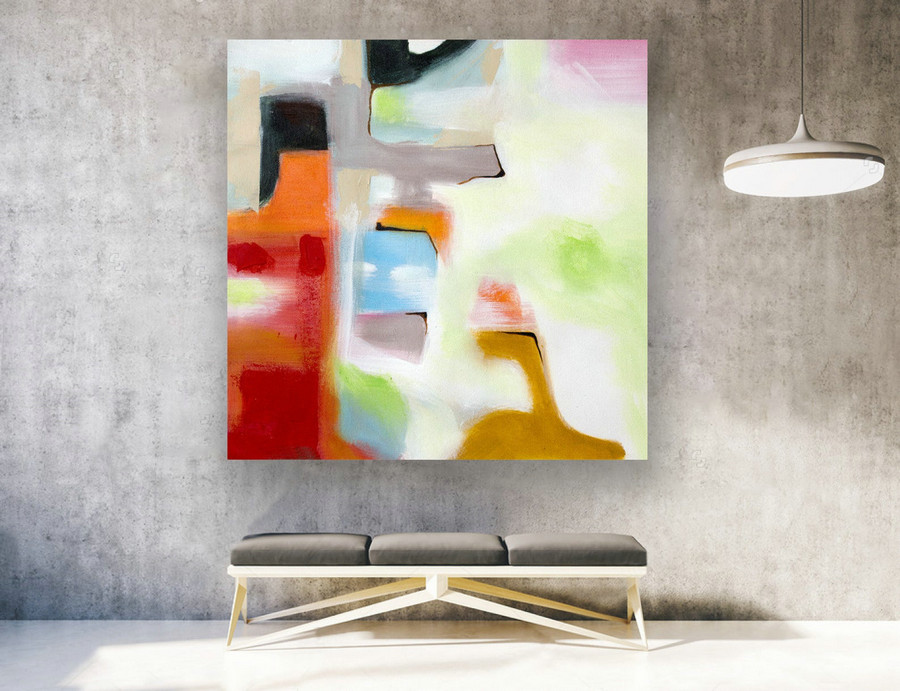 Contemporary Art,Original Painting Abstract.Large Abstract Wall Art,Large Painting Canvas,Extra Large Wall Art,Extra Large PaintingLAS156