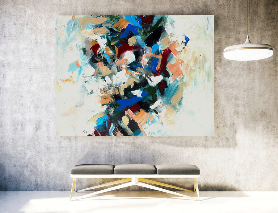 Original Large Modern Home Decor,Original Large Abstract Painting,Original Oil Painting Abstract,Original Painting On Canvas,XXXL XLLAS014