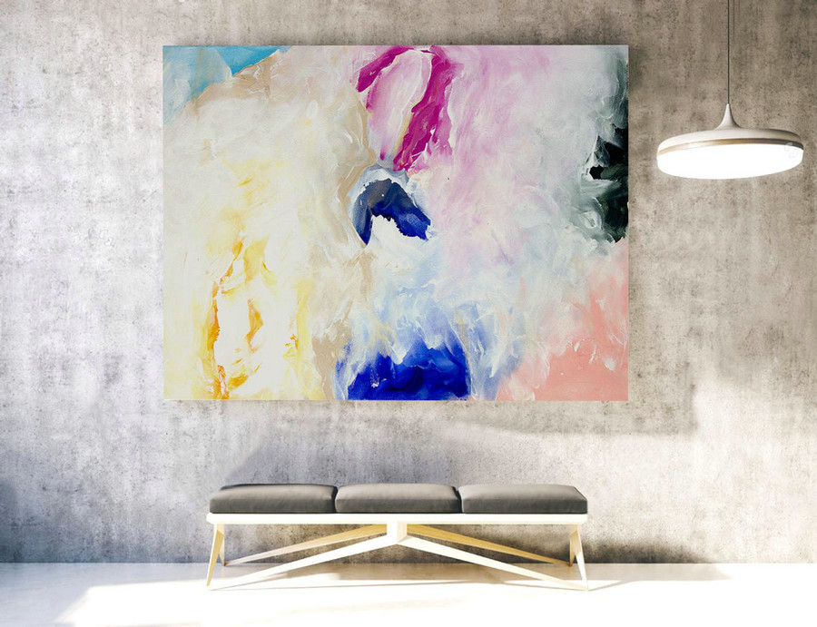 Original Modern Abstract Large Wall Art,Original Large Abstract Painting,Livingroom Decor,Large Painting Original,Large Canvas Art,XLLAS045