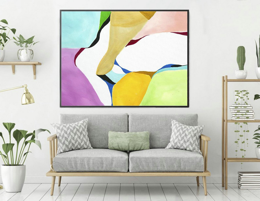 Abstract Painting,Large Wall Art,Paintings On Canvas,Extra Large Wall Art,Abstract Canvas Art,Large Abstract Painting,Contemporary laS168