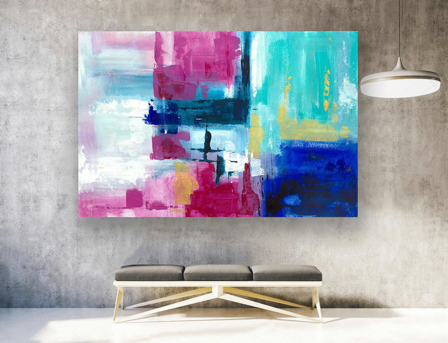 Large Original Abstract Painting On Canvas, Contemporary Wall Art, Extra Large Wall Art,Abstract on Canvas,Original Paintings, Modern LAS164