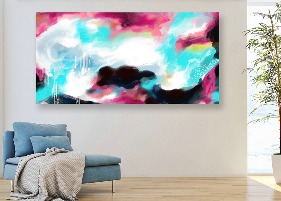 Original Art Abstract Painting,Extra Large Wall Art on Canvas, Hand painted Contemporary Abstract Art, Painting on Canvas, Modern Art PaS091