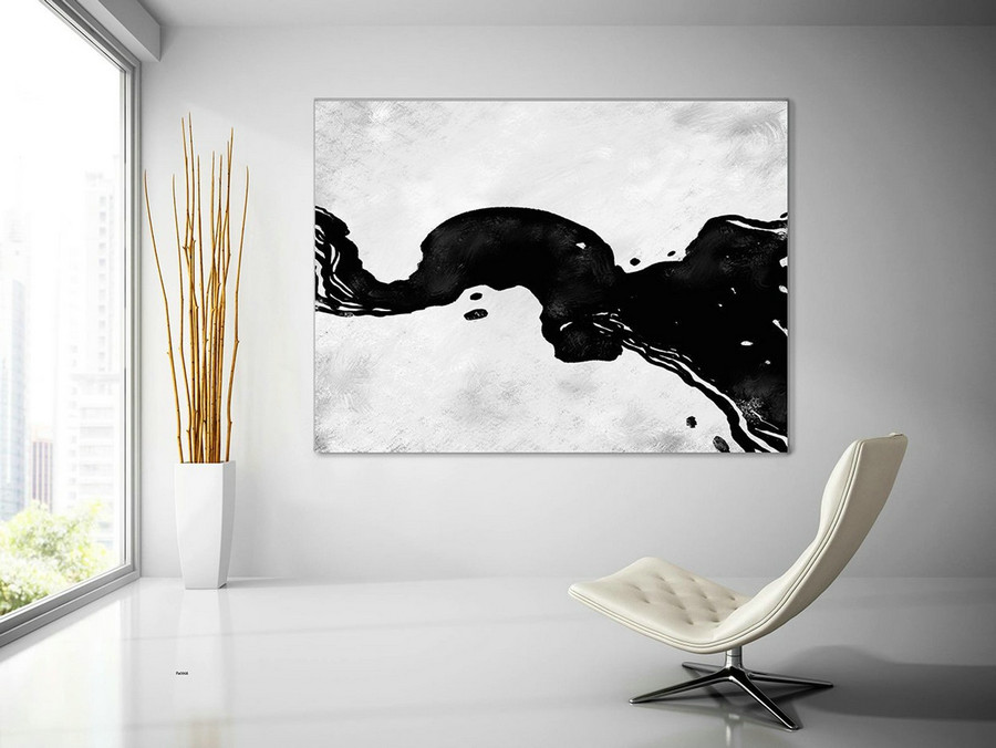 Contemporary Wall Art - Abstract Painting on Canvas, Original Oversize Painting, Extra Large Wall Art PaS068
