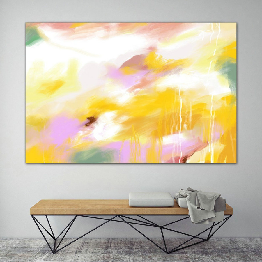 Extra Large Painting on Canvas, Original Abstract Art,Contemporary Abstract Paintings, Large Paintings on Canvas, UNSTRETCHED PaS098