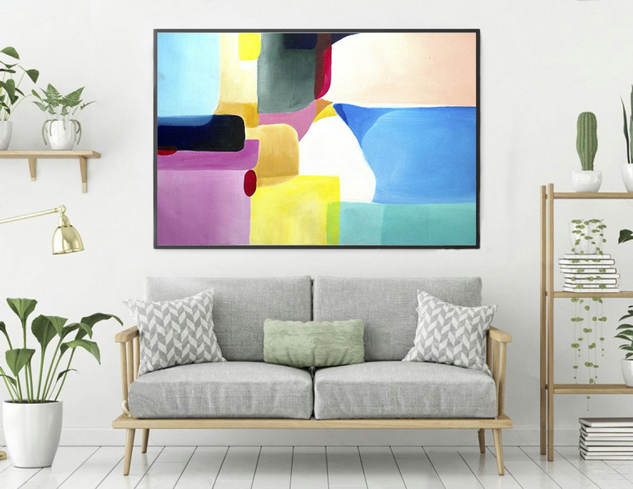 Abstract Painting,Large Wall Art,Paintings On Canvas,Extra Large Wall Art,Abstract Canvas Art,Large Abstract Painting,Contemporary laS271