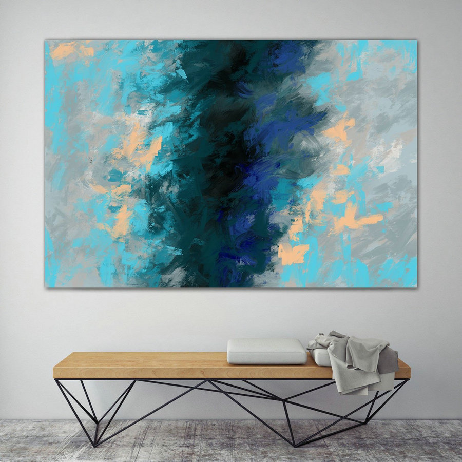 LargeWall Art Original Abstract Painting for Decor Contemporary Wall Art Modern Art Extra Large Original Abstract Painting on Canvas MaS038