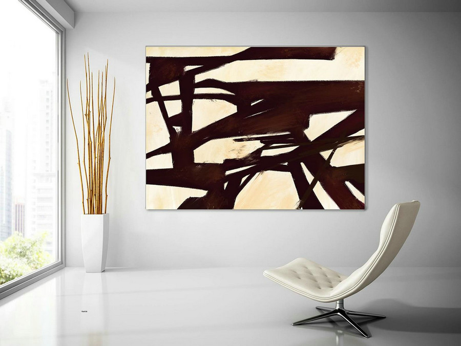 Contemporary Wall Art - Abstract Painting on Canvas, Original Oversize Painting, Extra Large Wall Art PaS058