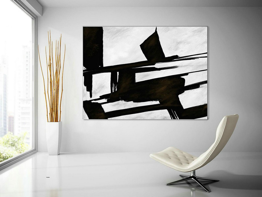 Extra Large Wall Art,Minimal Abstract Painting,Contemporary Painting on Canvas,Large Canvas Art,Huge Abstract Painting,Living Room PaS080