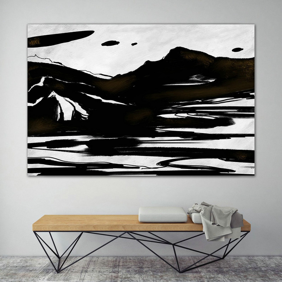 Extra Large Wall Art,Minimal Abstract Painting,Contemporary Painting on Canvas,Large Canvas Art,Huge Abstract Painting,Living Room PaS077
