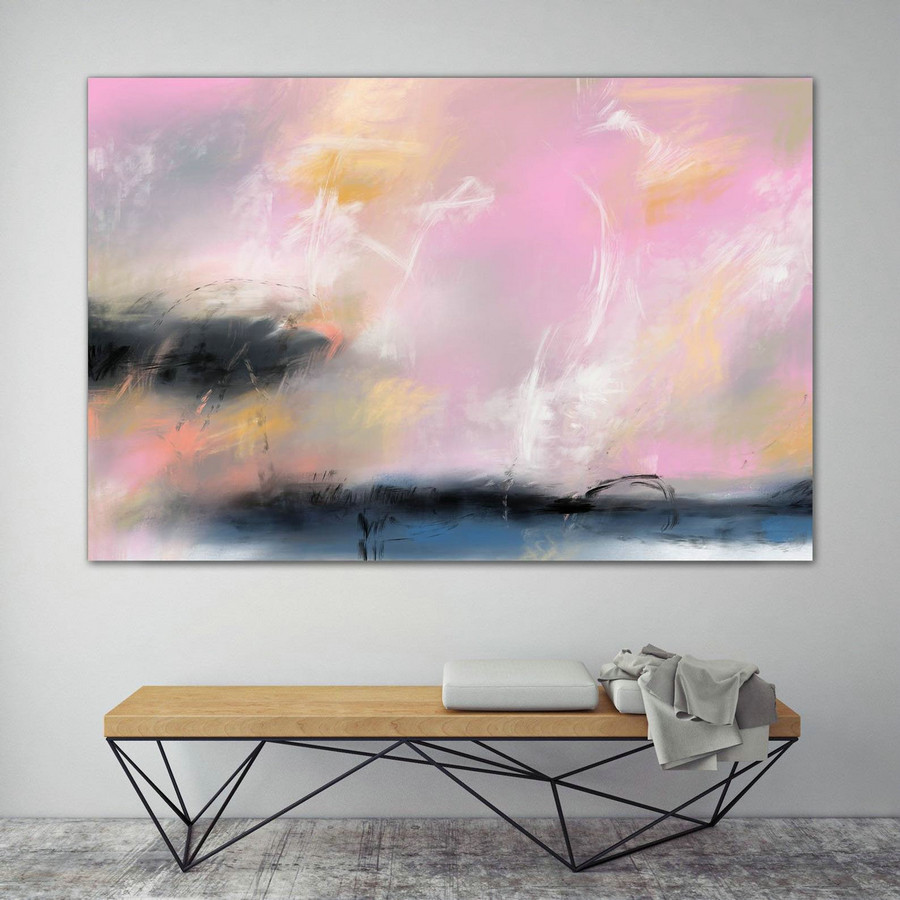 LargeWall Art Original Abstract Painting for Decor Contemporary Wall Art Modern Art Extra Large Original Abstract Painting on Canvas MaS004