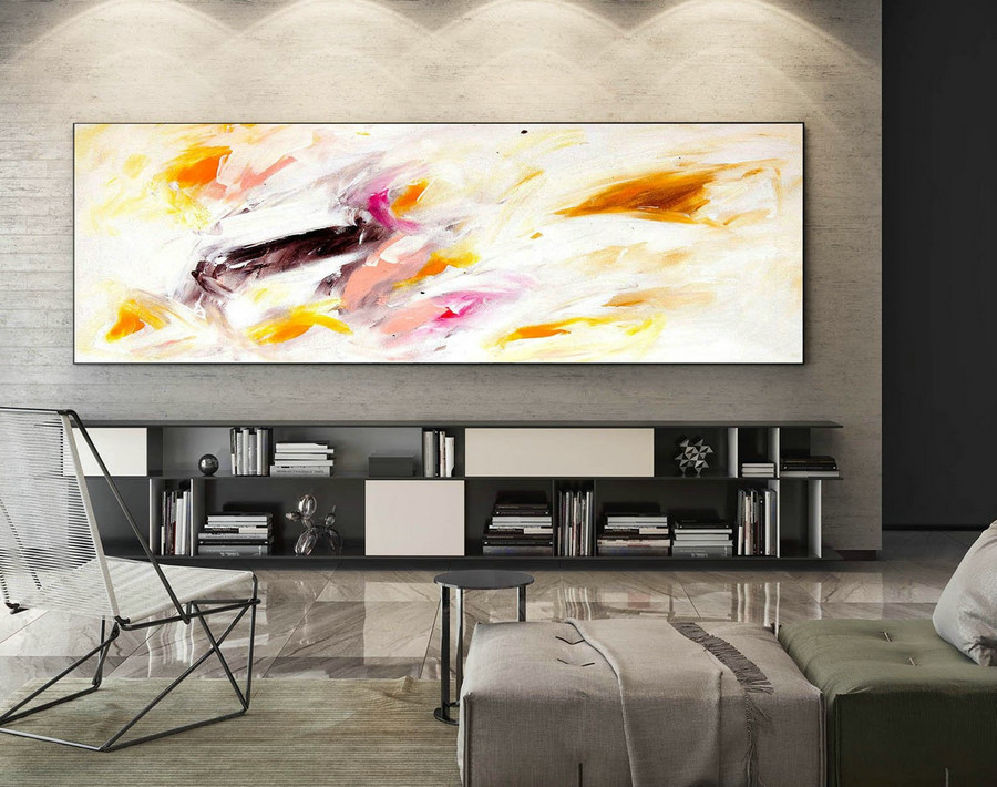 Abstract Painting on Canvas - Extra Large Wall Art, Contemporary Art, Original Oversize Painting XaS041