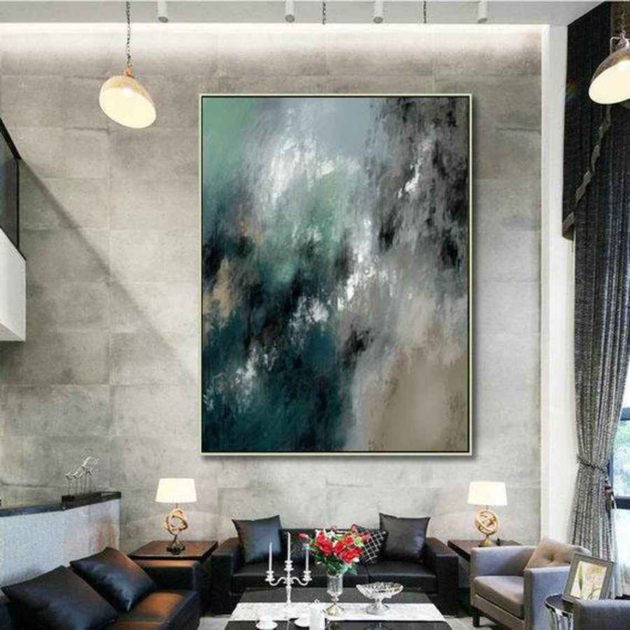 LargeWall Art Original Abstract Painting for Decor Contemporary Wall Art Modern Art Extra Large Original Abstract Painting on Canvas MaS006