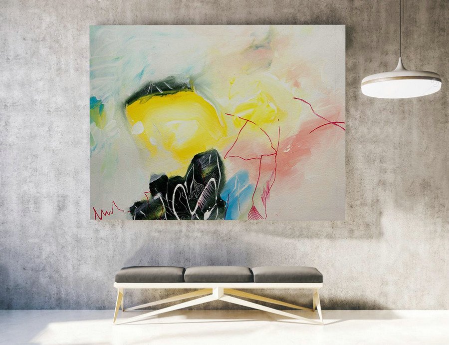 Original Modern Abstract Large Wall Art,Original Large Abstract Painting,Livingroom Decor,Large Painting Original,Large Canvas Art,XLLA042