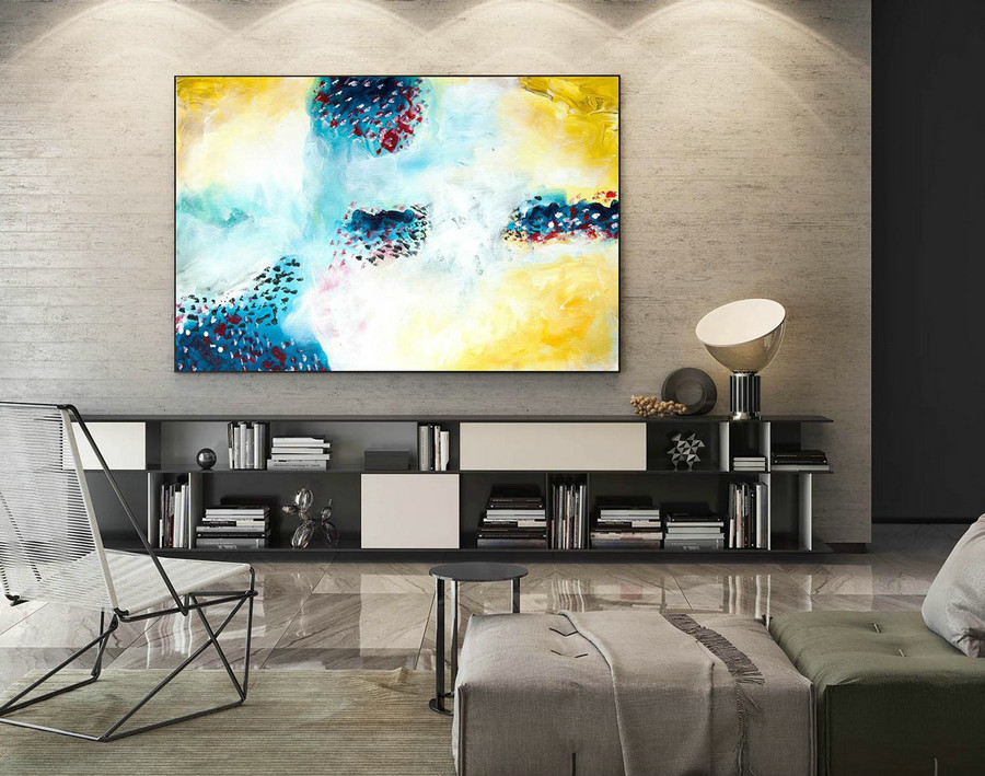 Extra Large Canvas Art,Original Art,Modern Canvas Oil,Large Acrylic Art,Modern Contemporary,Large Acrylic Art,Oversized Art,Xxl Art LaS030