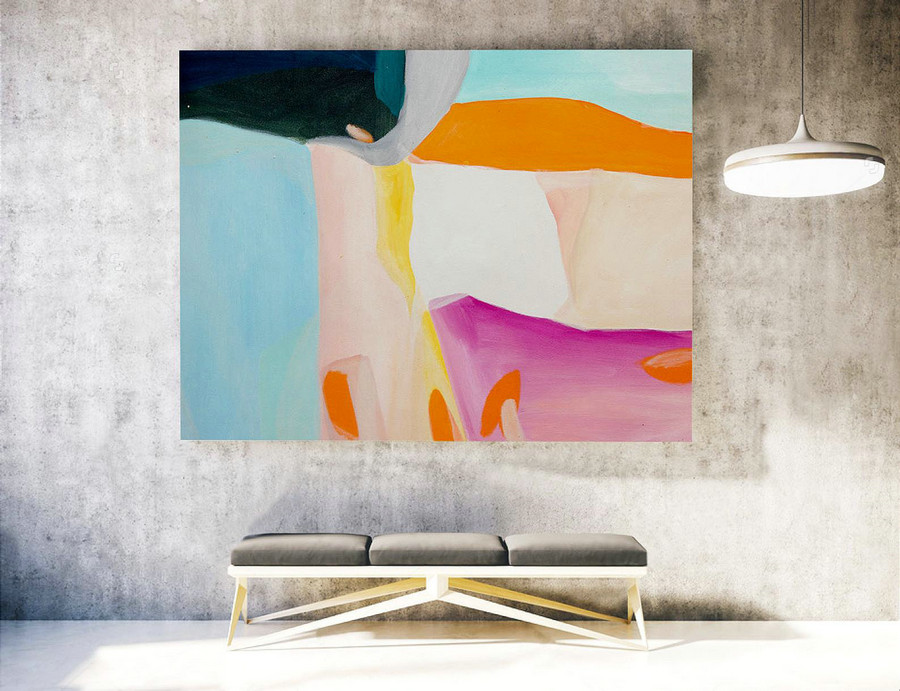 Original Large Abstract Painting,Abstract Canvas Art,Contemporary Art Modern Oil Painting ,Large Painting Original,Large Canvas Art LAS053