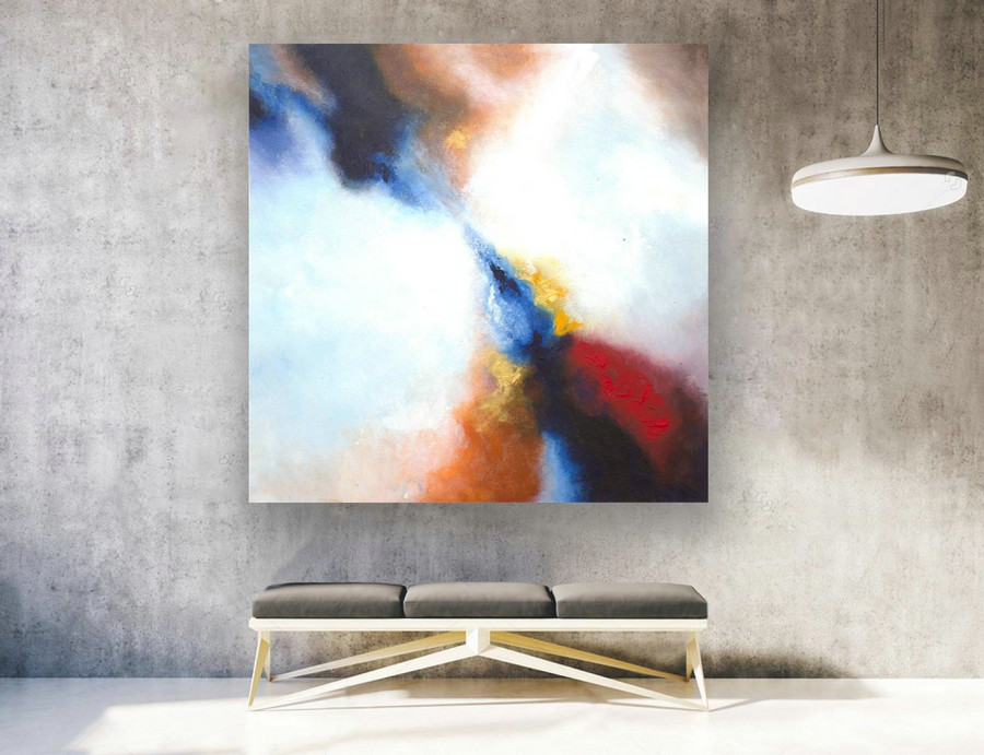 Contemporary Wall Art On Canvas,Extra Large Abstract Painting Original,Painting On Canvas,Abstract Canvas Art,Large Original Painting LAS148