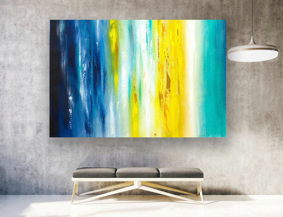 Large Original Abstract Painting On Canvas, Contemporary Wall Art, Extra Large Wall Art,Abstract on Canvas,Original Paintings, Modern LAS161