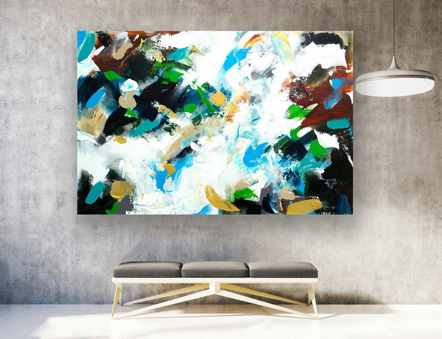 Contemporary Art,Original Painting Abstract.Large Abstract Wall Art,Large Painting Canvas,Extra Large Wall Art,Extra Large Painting LAS187