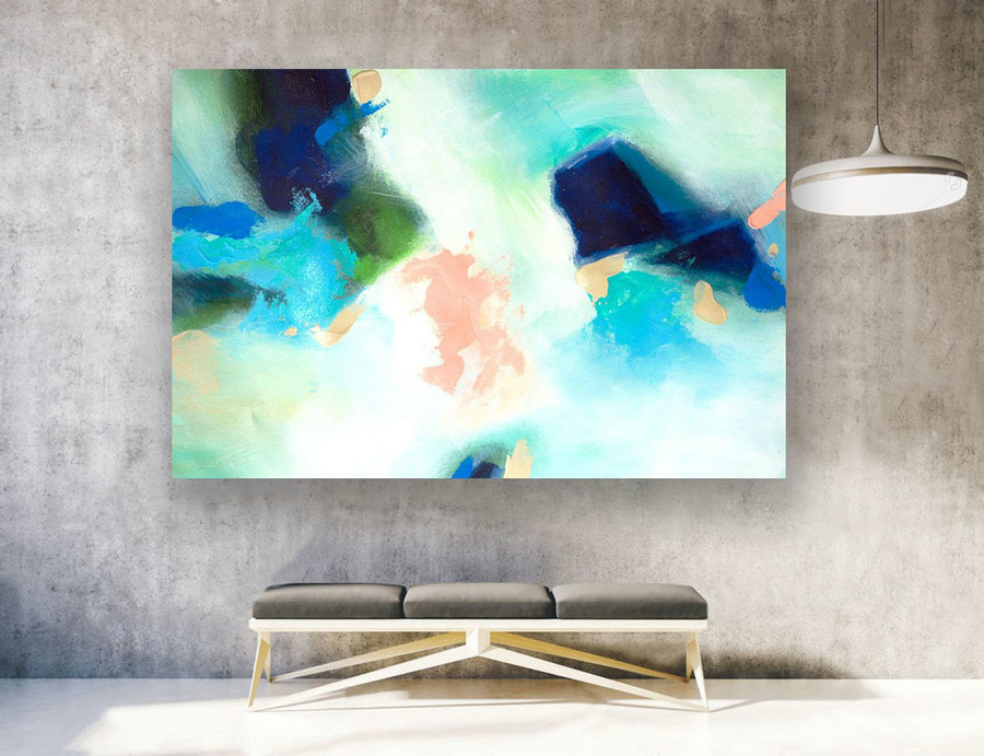 Extra Large Wall Art, Contemporary Art, Large Original Painting On Canvas, Modern Wall Art,Modern Home Decor,Abstract Canvas Art,XXXl LAS230