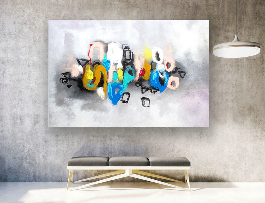 Extra Large Wall Art,abstract canvas art,Contemporary art,Large Wall art canvas,large original painting,Large original Painting LAS266