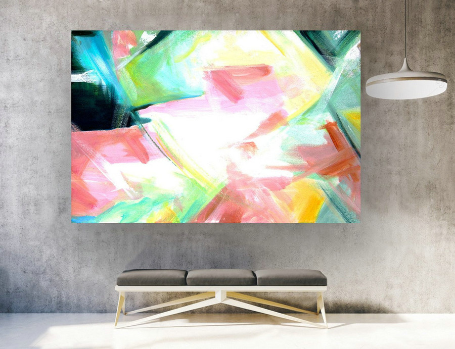 Contemporary Art,Original Painting Abstract.Large Abstract Wall Art,Large Painting Canvas,Extra Large Wall Art,Extra Large Painting laS461