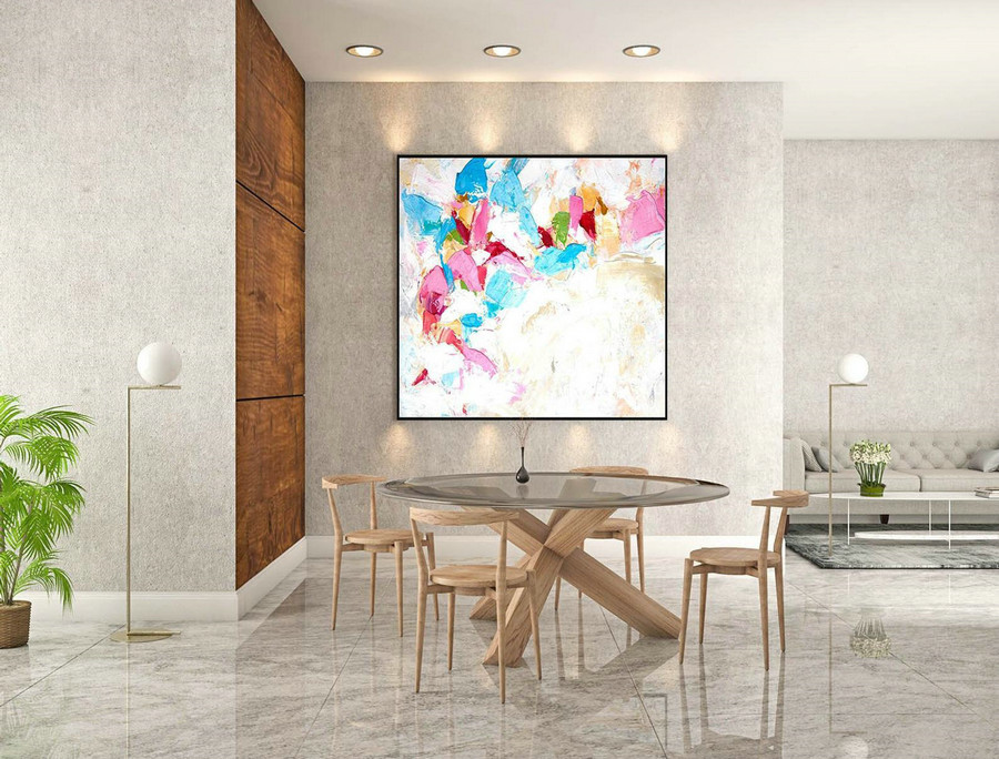 Abstract Painting on Canvas - Extra Large Wall Art, Contemporary Art, Original Oversize Painting LaS536